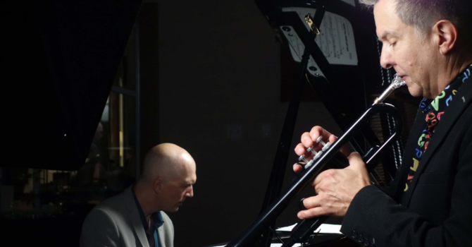 Jazz Vespers with Gabriel Mark Hasselbach and Miles Black