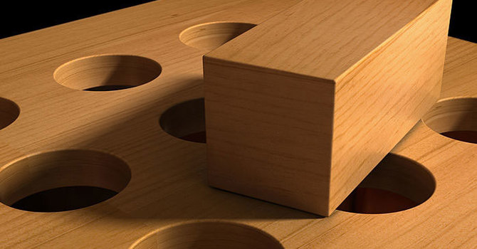 Pegs and Holes image