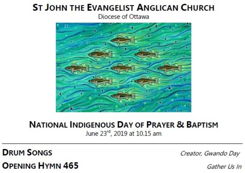 National Indigenous Day of Prayer / Baptism