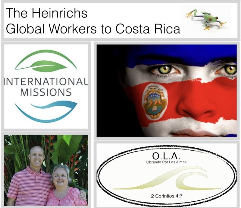 Gary Heinrichs: Missionary to Costa Rica