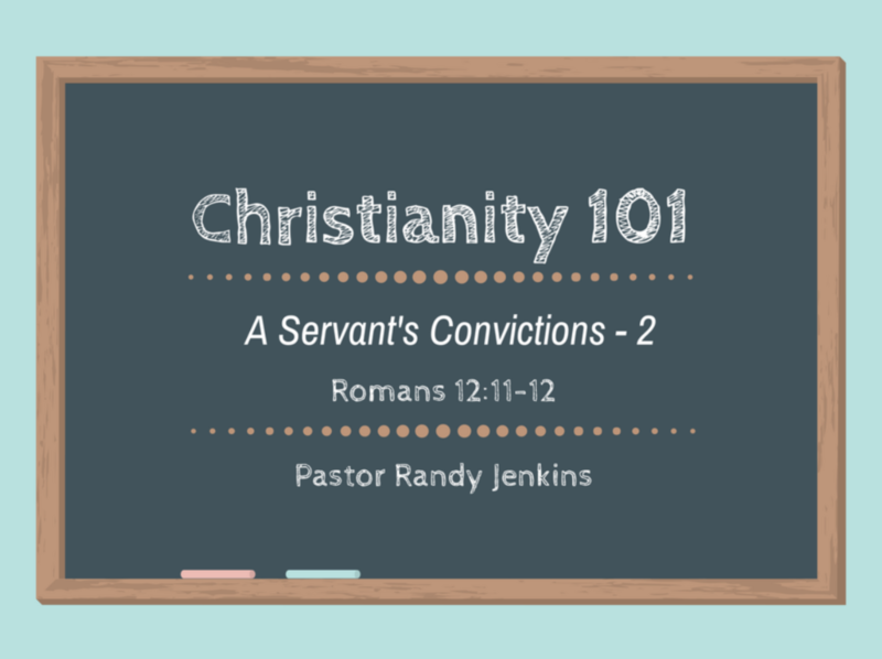 A Servant's Convictions