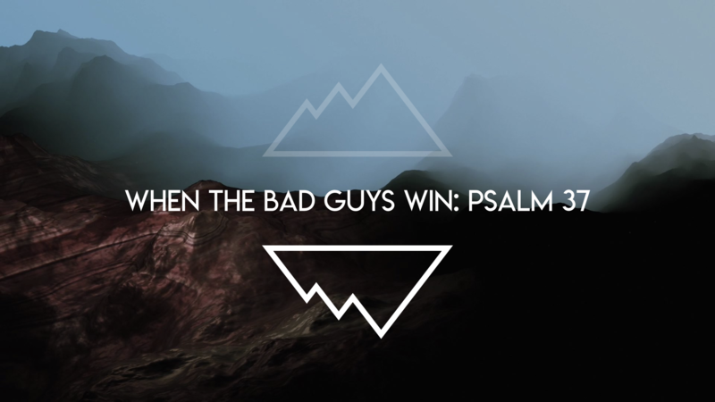 When The Bad Guys Win