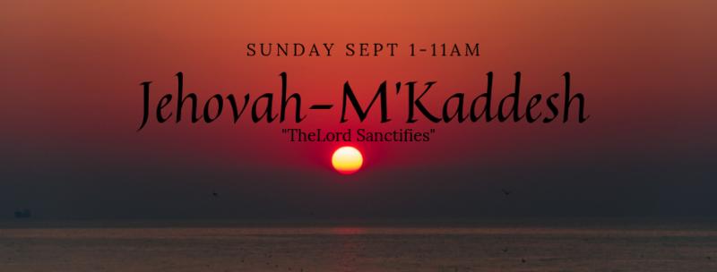 Jehovah-M'Kaddesh