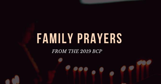 Family Prayers image