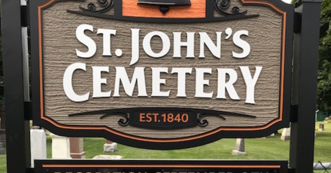 Decoration Day at St. John's Anglican Cemetery image