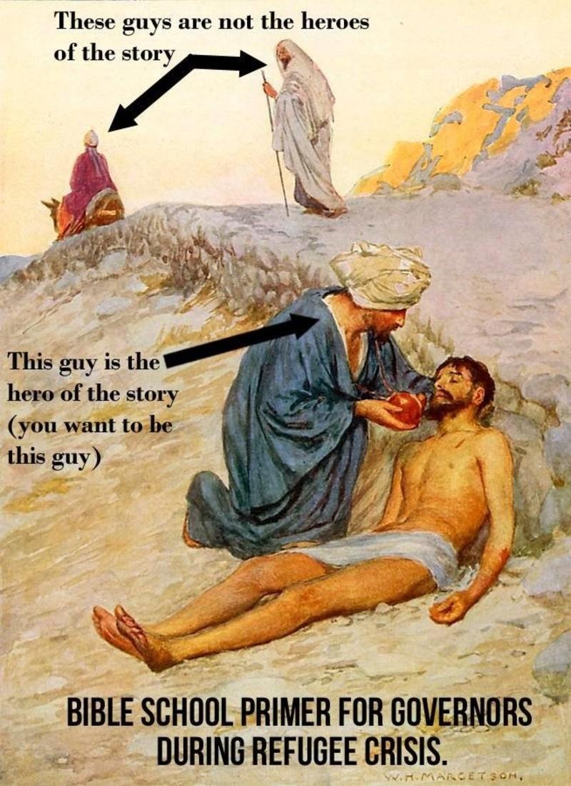 A Reflection on Luke 10: 25-37 & Luke 9: 51-56