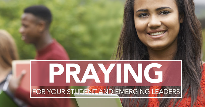 Praying for Your Student or Emerging Leader image
