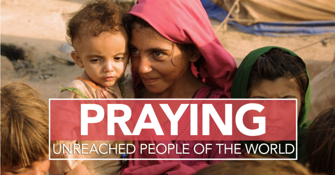 Praying for the unreached of the world image