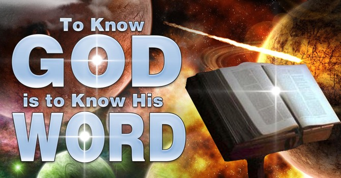ABBA FATHER; YOUR WORD IS ALIVE AND ACTIVE! image