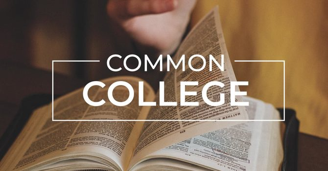 Common College | Tuesday Night