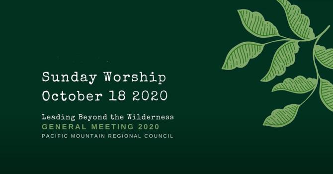 October 18, 2020 Worship Service image