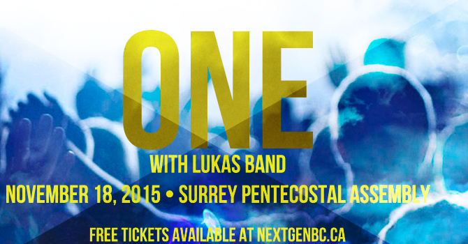 ONE Event with LUKAS BAND image
