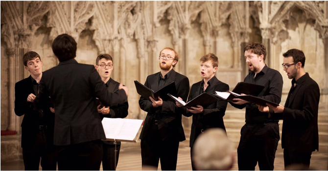 The Gesualdo Six to Perform at St. James'