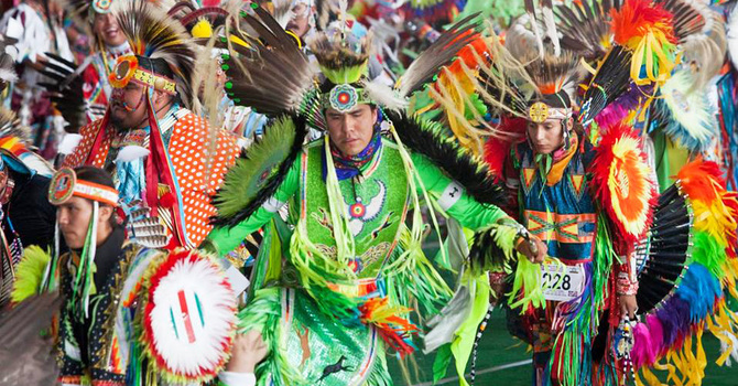 St. Saviour's Members Attend Onion Lake Pow Wow image