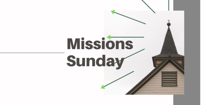 Missions Sunday - No Other Name