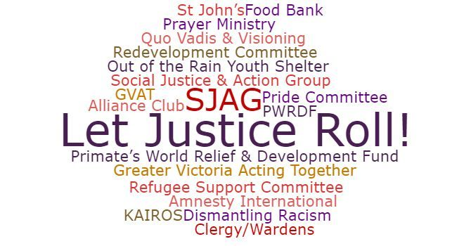 Let Justice Roll: The Social Justice & Action Group image