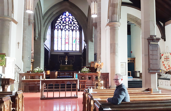 Cathedral welcomes new music director