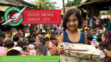 Operation Christmas Child - Get your supplies now!