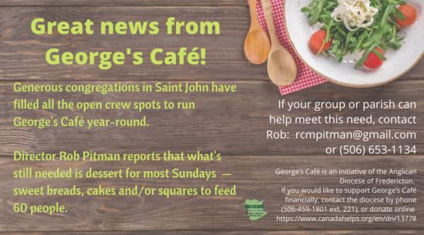 George's Café news