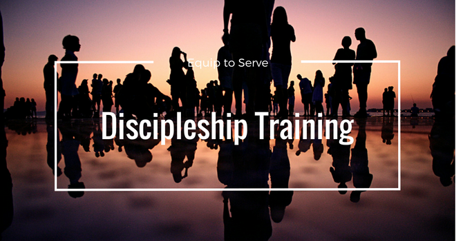 Discipleship Training Beginning Friday Nov. 10th image