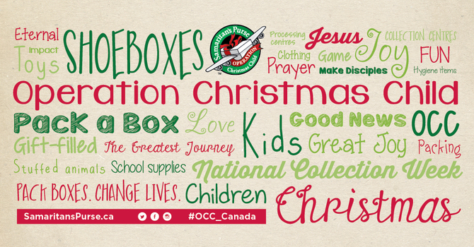 Pack a shoebox and bless a child image