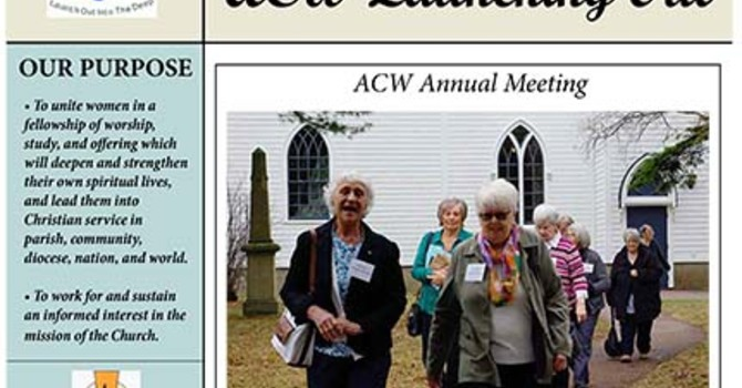 ACW Launching Out newsletter