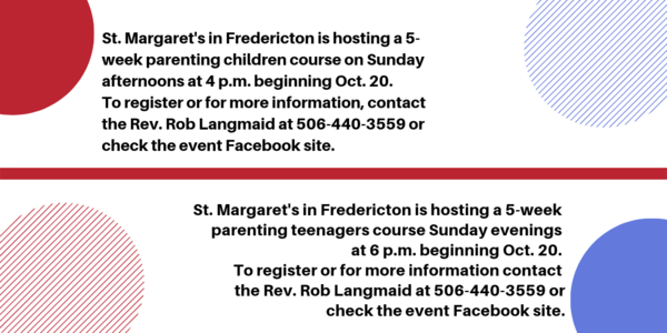 Parenting courses at St. Margaret's