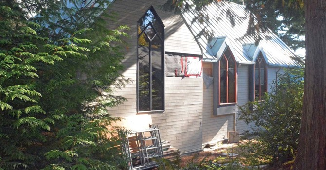 Sailboat Rigging Will Secure Sechelt Church Building