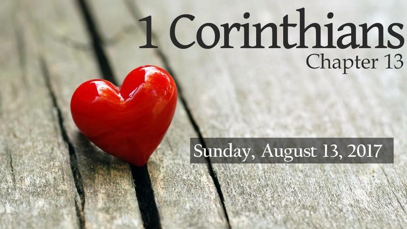 First Corinthians 13
