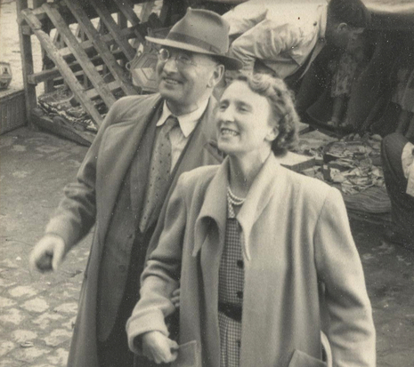 Shirley's parents, Harry and Nora