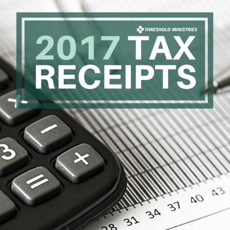 2017 Tax Receipts