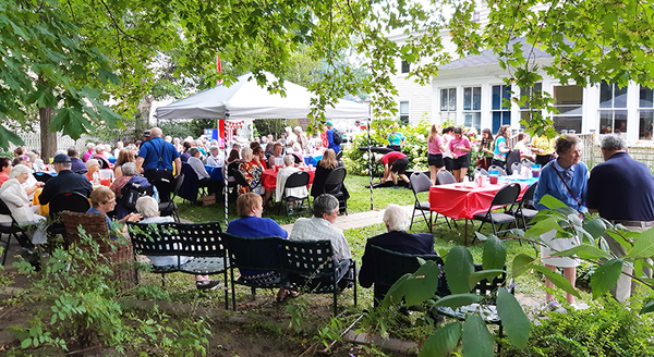Farraline Place Garden party enjoyed by all