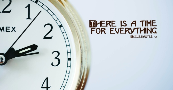 A Time for Everything image