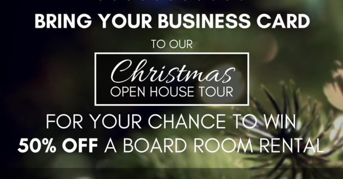 Christmas Open House Tour image