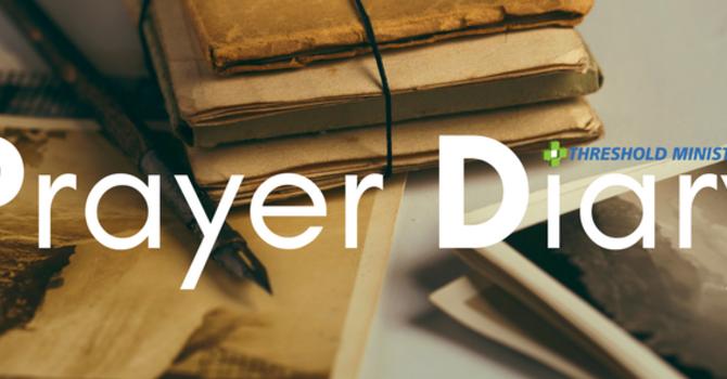 Prayer Diary: Jan-Feb 2017 image