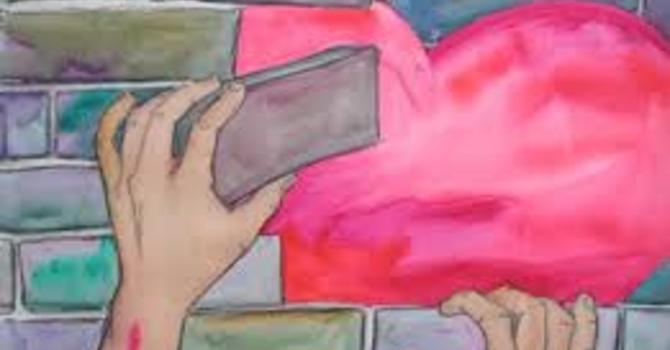 Forgiveness - Tear walls down, not build them up image