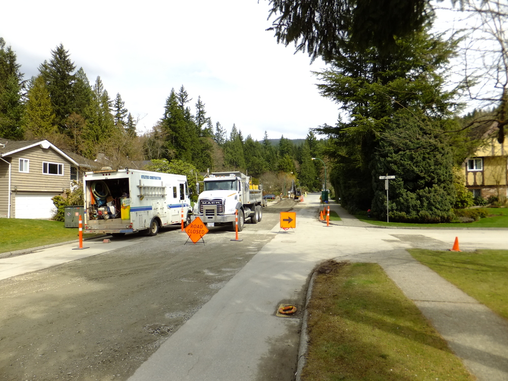 Municipal Utilities Upgrades District of North Vancouver