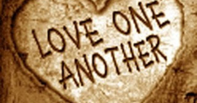 John 14:1-7  and  John 15:9-17  image