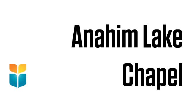 Anahim Lake Chapel