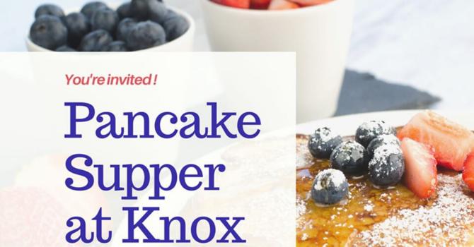 Knox Pancake Supper (L)