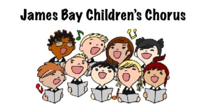 James Bay Children's Chorus. 4 PM, Sept. 13, 2018. image