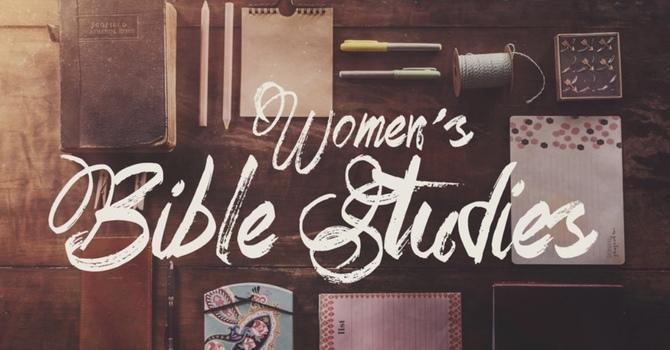 Thursday evenings Womens Bible Study image