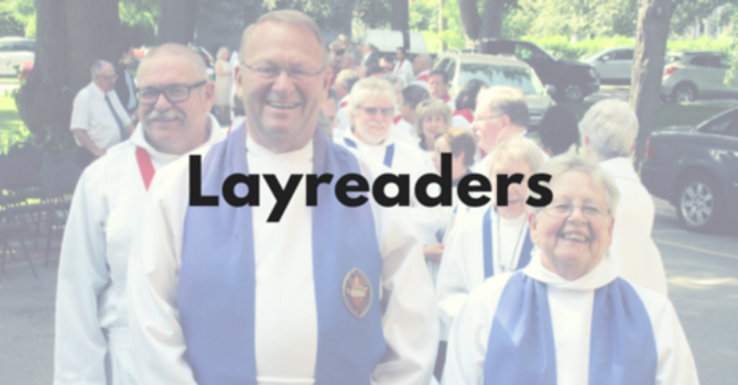 Leading Worship as a Layreader