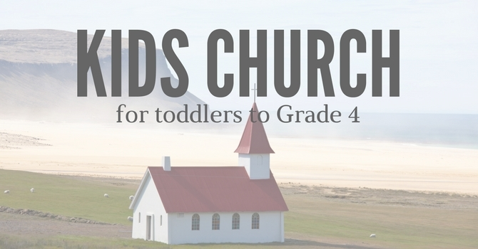 Join us for Kids Church image