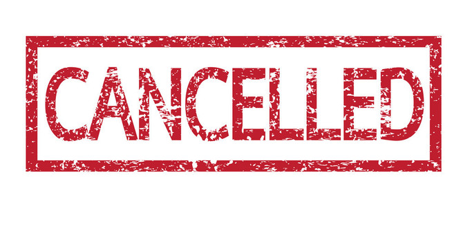 CANCELLED UNTIL FURTHER NOTICE
