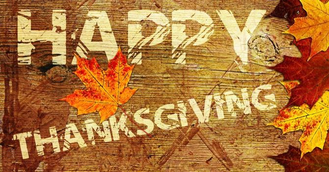Thanksgiving, An Attitude of Gratitude image