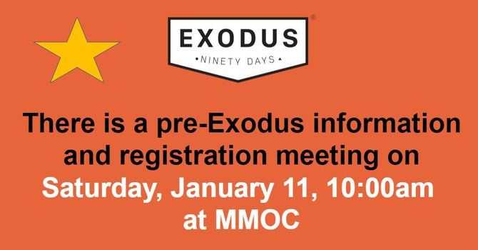 Exodus 90 - Men, are you ready? Info/registration mtg January 11 image