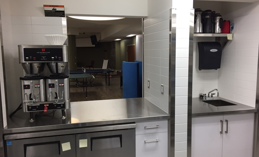 Photographs of the New Kitchen - thank you for your generosity