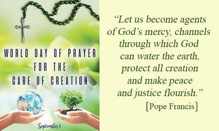 World Day of Prayer – September 1, 2017