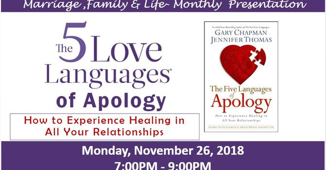 MFL Presentation - 5 Languages of Apology - Nov 26